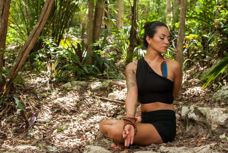 yoga retreat in quintana roo jungle