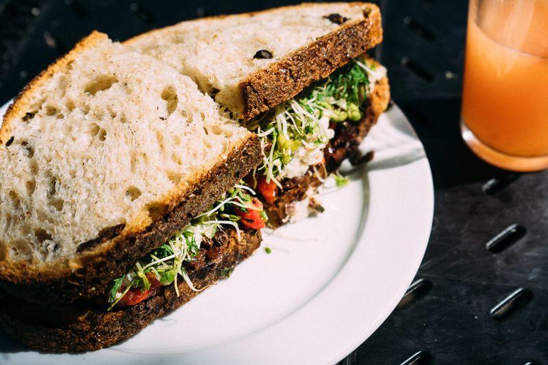 quinoa sandwhich