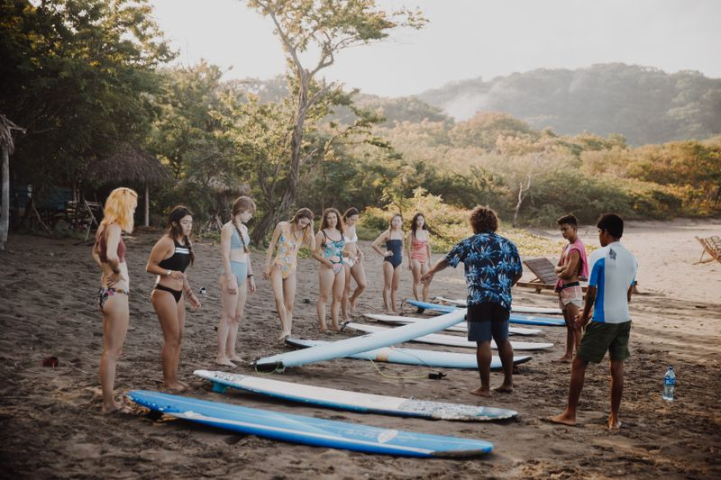what-is-a-surf-yoga-camp