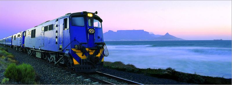 Blue Train South Africa - South African tourism