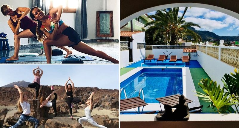 200 h yoga alliance hatha & vinyasa YTT in tenerife