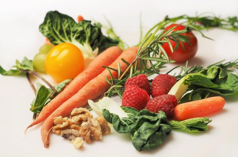 vegetables raw food photo