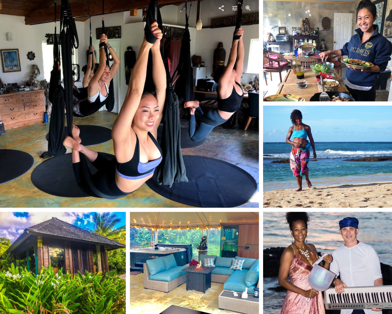 yoga and work in Hawaii