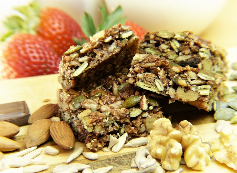 cereal bars for breakfast