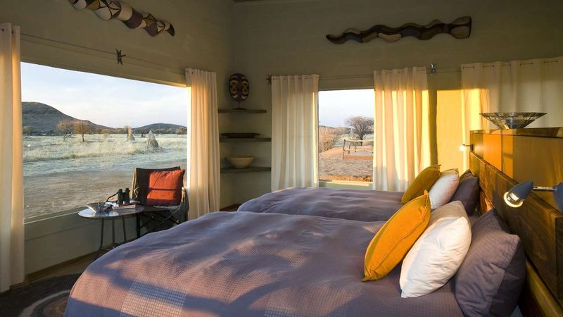 room with a view in etosha national park namibia