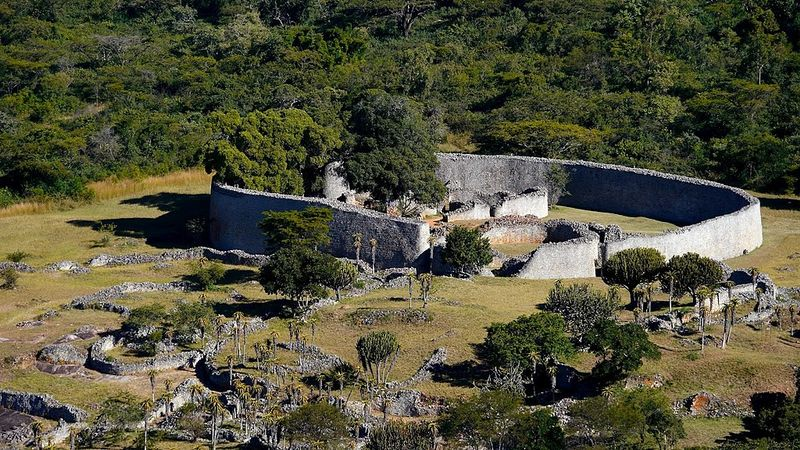 Great Zimbabwe walls
