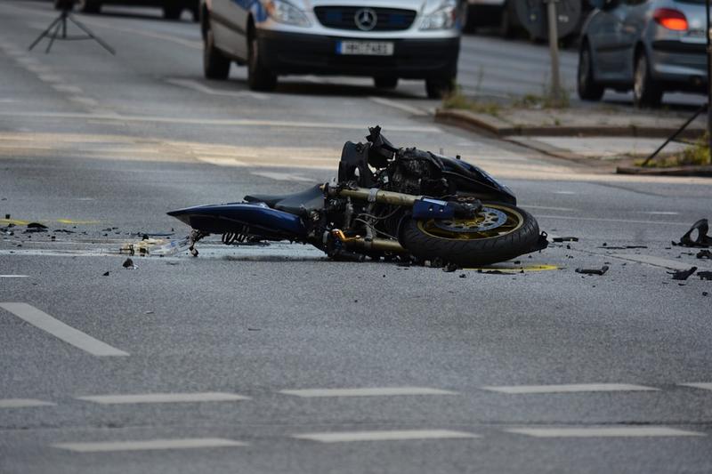 motorbike collision