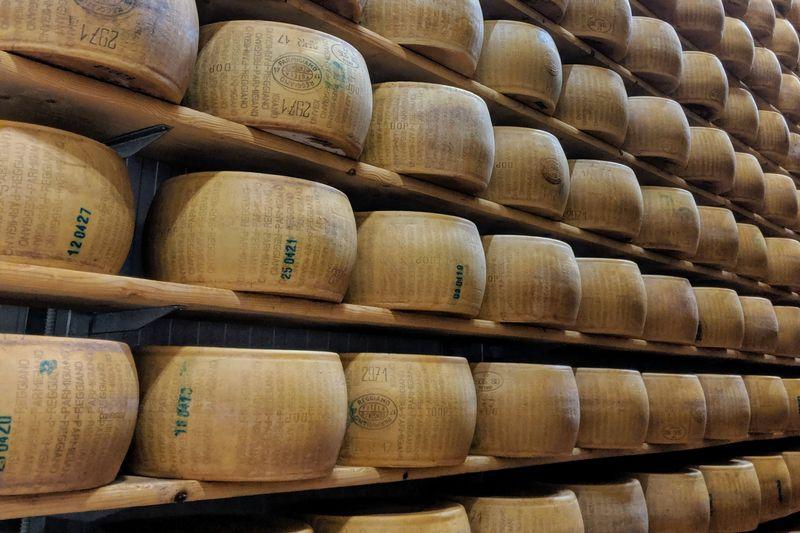 Parmigiano Reggiano in Emilia-Romagna