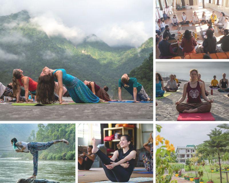 15 day 200 hour yoga teacher training in rishikesh india