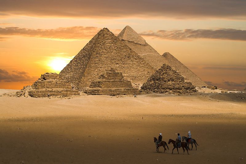 horse riding holiday in Egypt