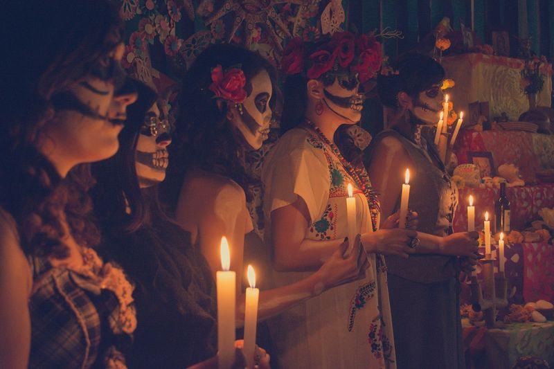 dia de los muertos ceremony