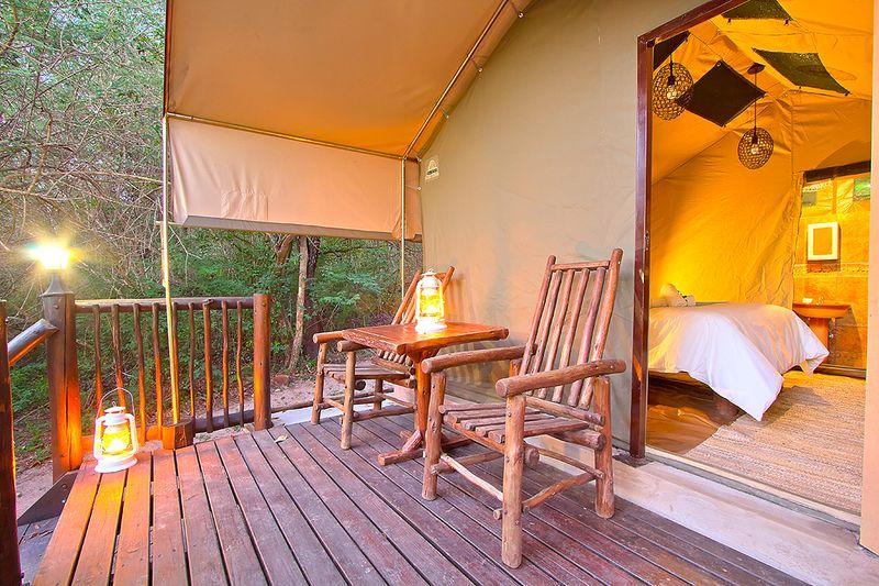 camping safari in africa