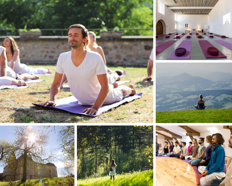 yoga retreat in France
