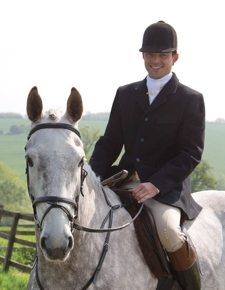 english riding male proper attire