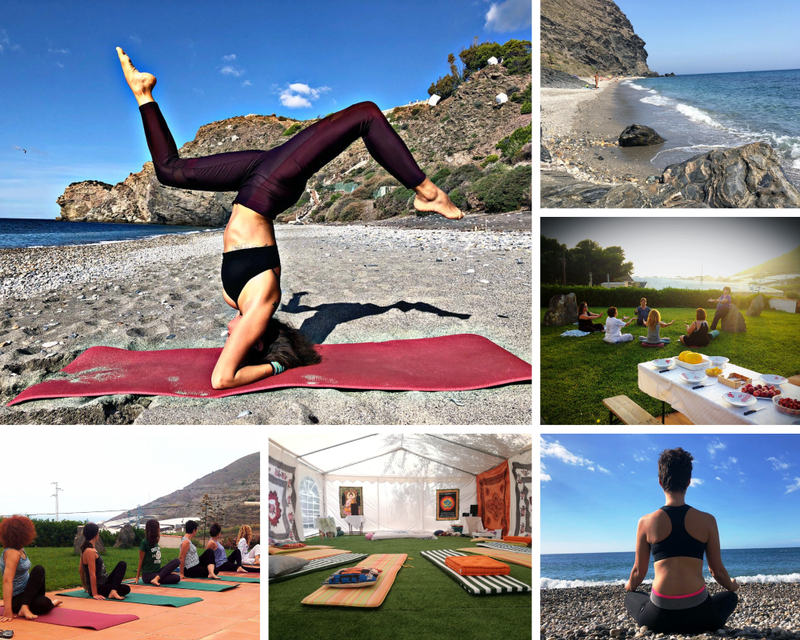 retiro de yoga en Torrenueva