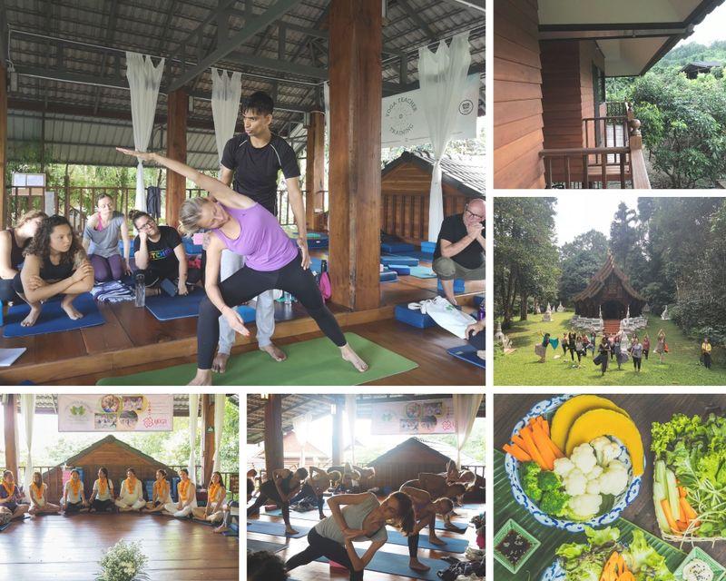22 Day 200 Hours Hatha & Ashtanga Vinyasa Yoga Teacher Training in Chiangmai, Thailand