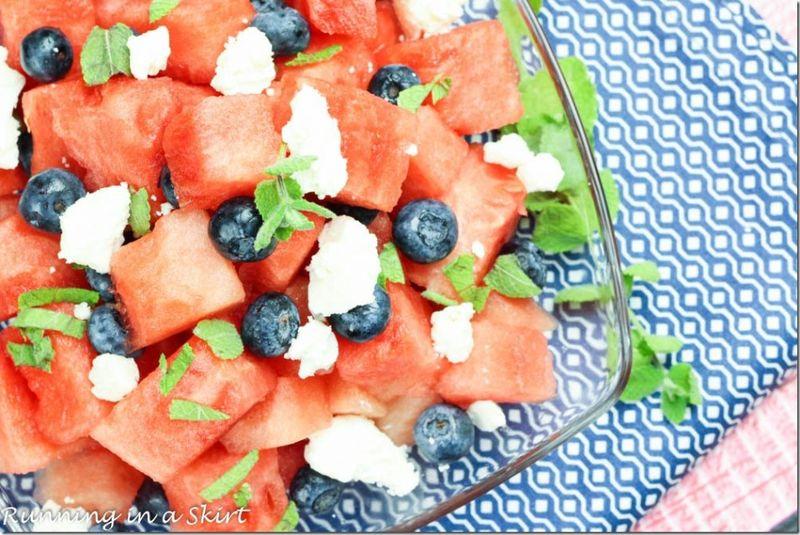 blueberry watermelon feta