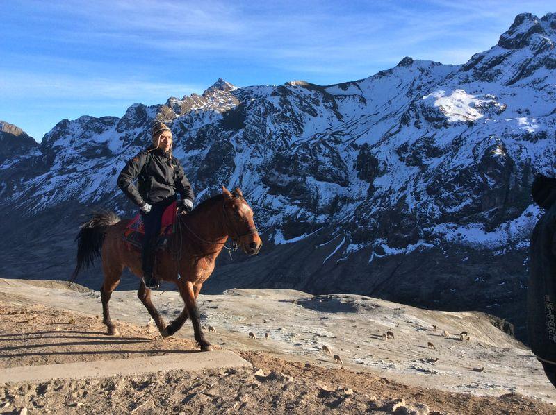 Peru horse riding holiday