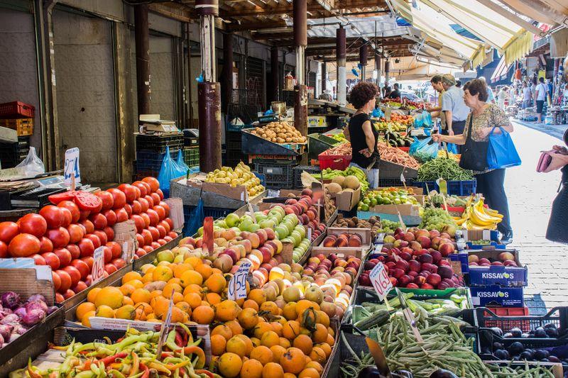 street market in europe