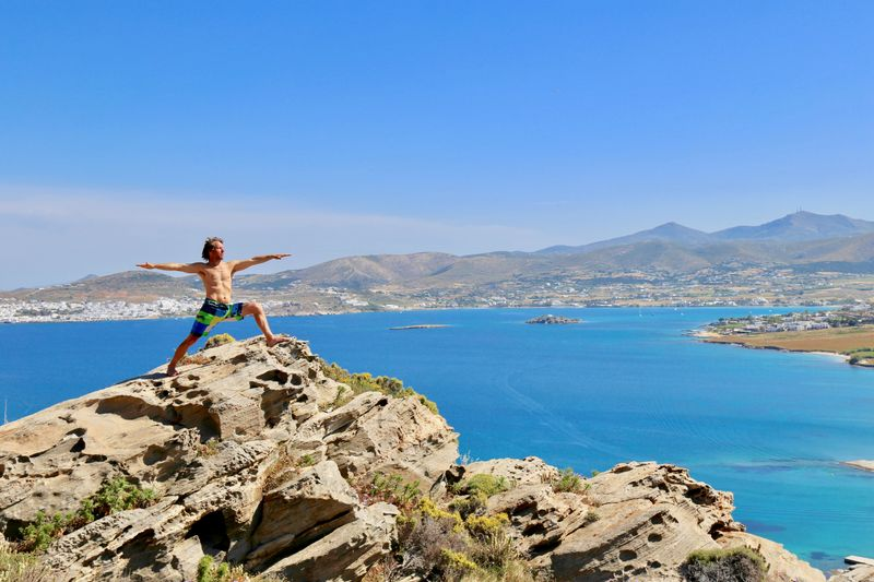 yoga in the cyclades