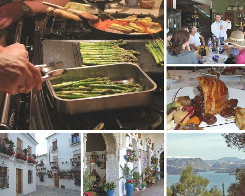 4 Day Culinary Adventure and Cooking Vacation in Iznájar, Andalusia