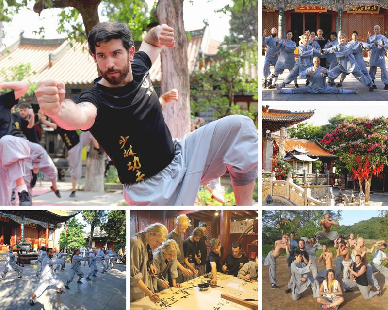 Songshan Wushu Academy training camp