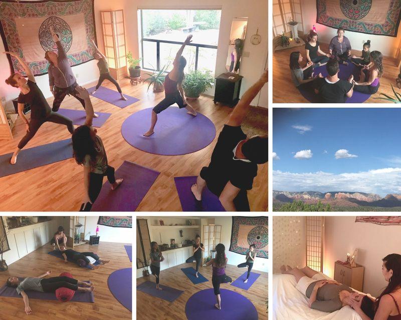 3 Day Monsoon Nectar Bath Culture Yoga Retreat: Chrysalis Transformation in Sedona, Arizona