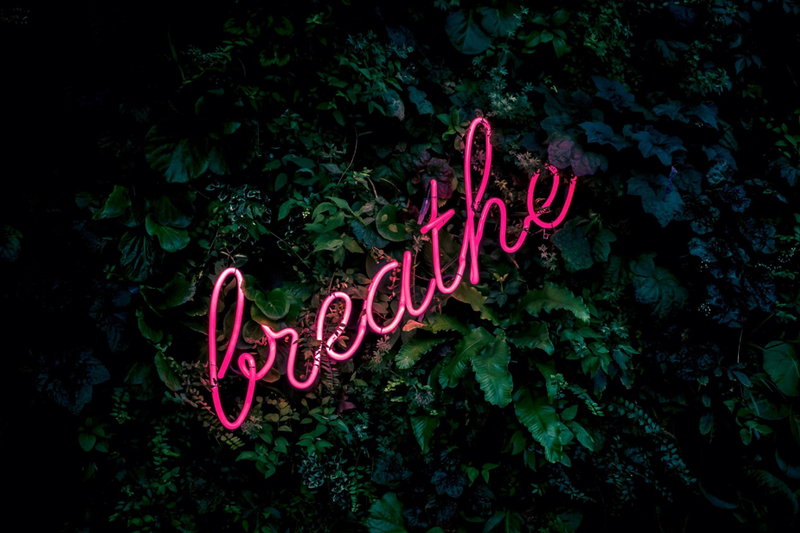 breathe in stressful moments