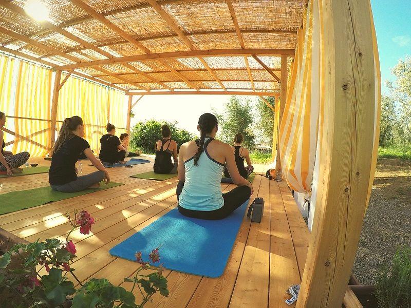 yoga retreat in tuscany italy