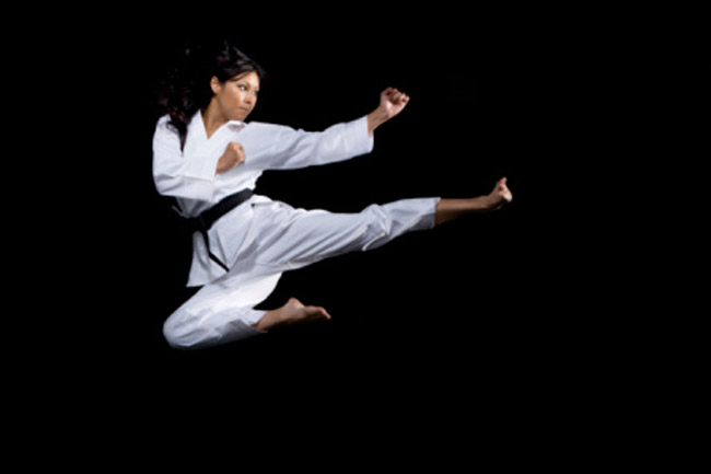 martial arts empowers women