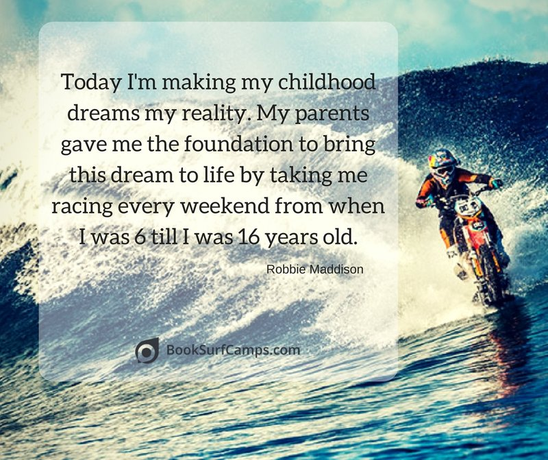 Robbie Maddison Surf Quotes
