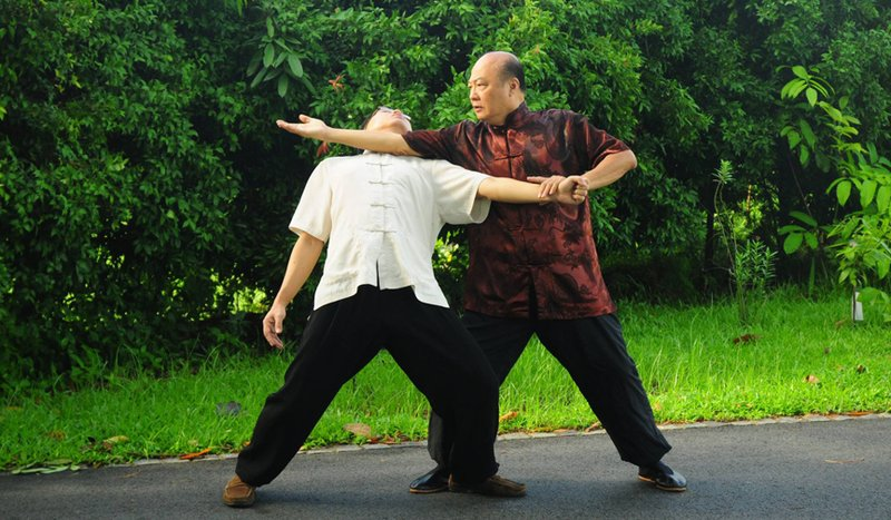 Tai Chi fight