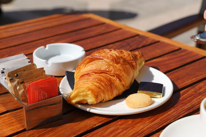 Croissant in France