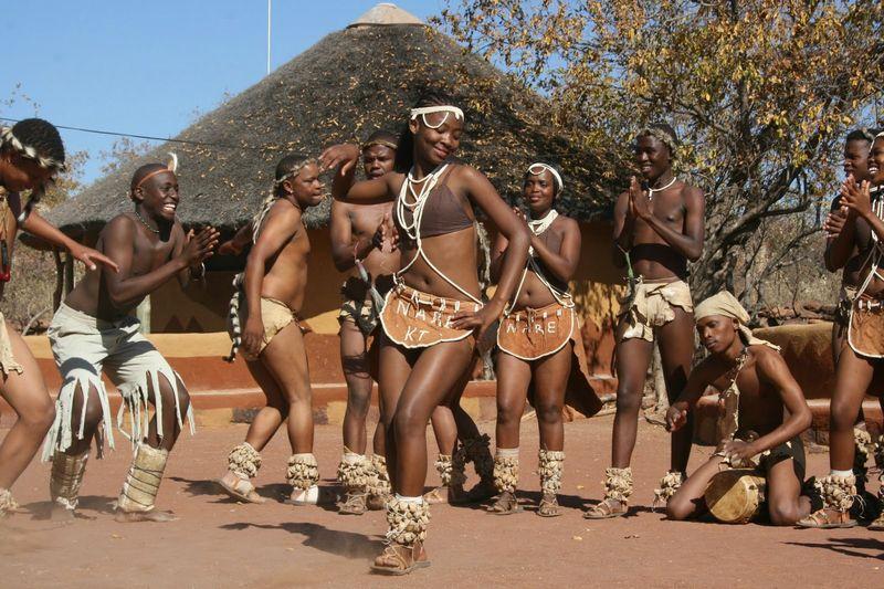 Tswana dance