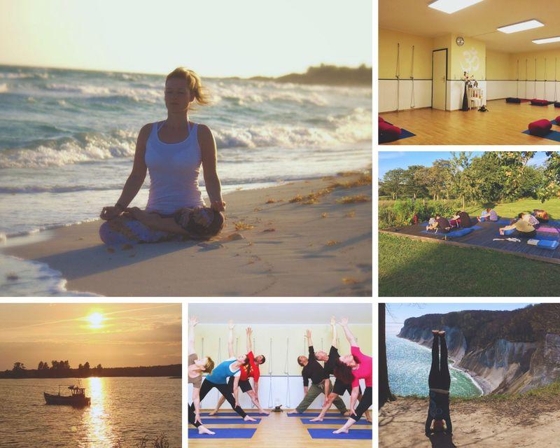 short break with yoga in rugen