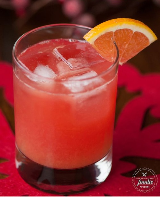 easy cocktail : cranberry screwdriver