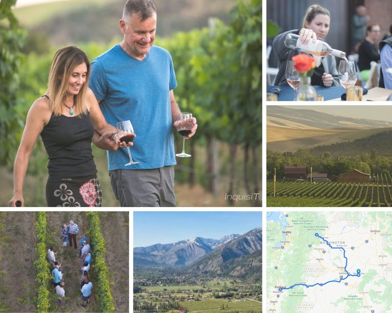 wine discovery in washington and oregon