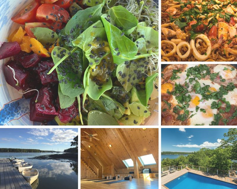 8 Day Mindful Nourishment: Yoga, Meditation, and Cooking Holiday in Phippsburg, Maine