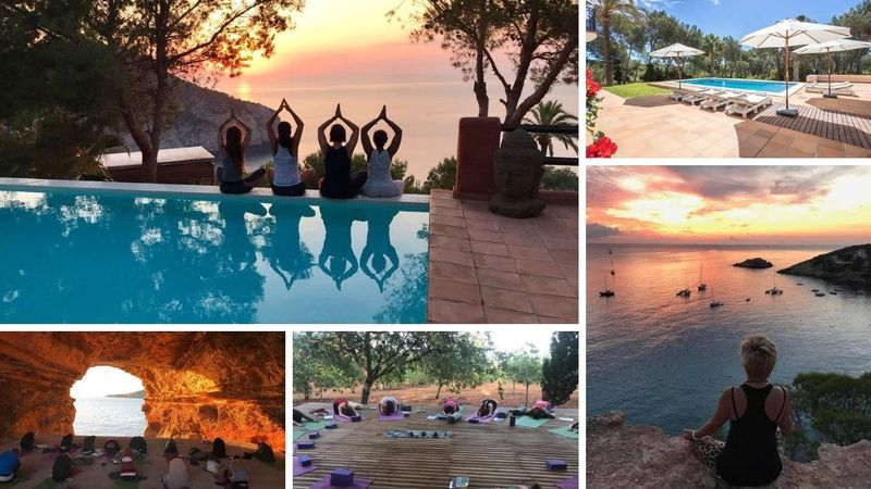 7 days 60 h yoga therapy ibiza spain
