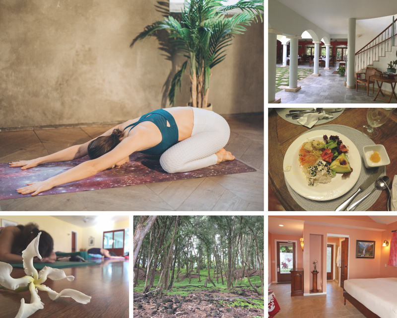 yoga retreat in Kapaau