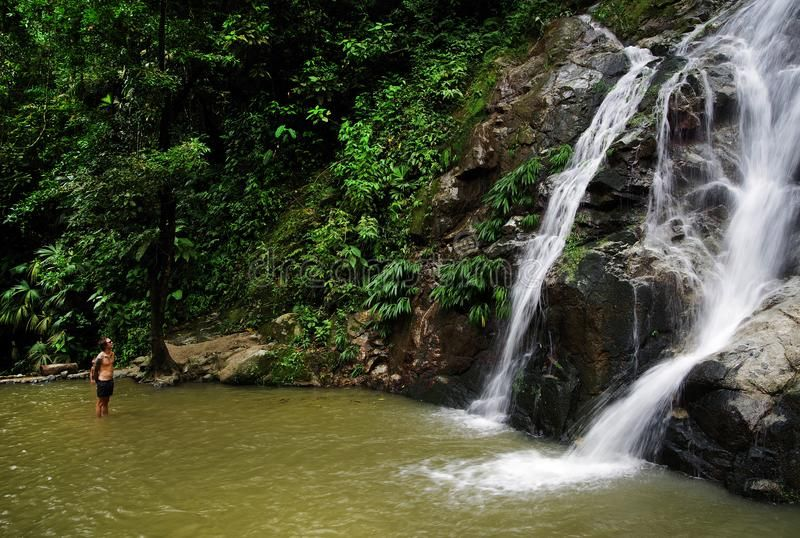 Waterfall in Minca