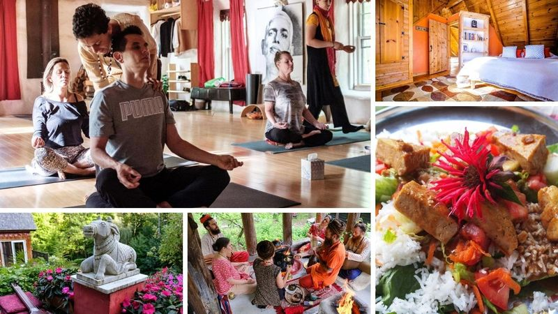 7 Day Personal Contemplation Yoga Retreat in Industry, Maine