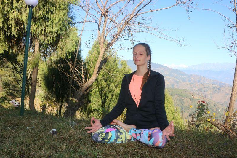 yoga in Kathmandu Valley