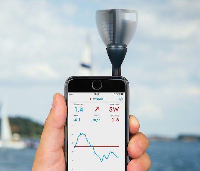 Smartphone-Wind-Meter
