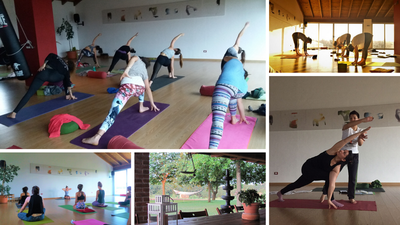 short yoga holiday in piedmont