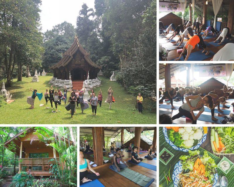 200 Hours Hatha & Ashtanga Vinyasa Yoga Teacher Training in Chiang Mai, Thailand