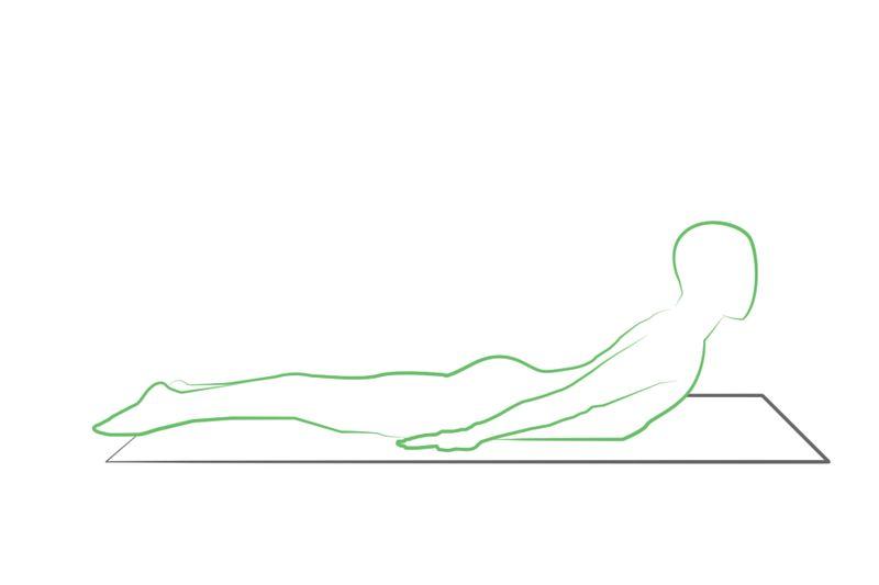 locust pose yoga