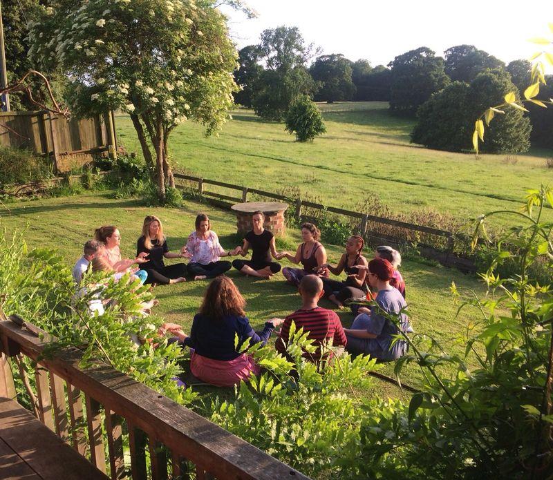 short yoga retreat faversham