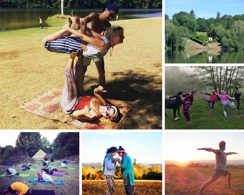 yoga in Sussac