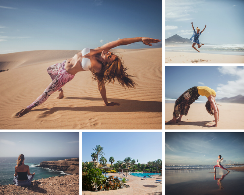 private yoga retreat in Spain